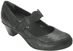 Monaco in Dusty Black by Drew Shoes for Women