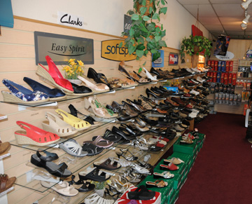 View of Shoes Available Comfort Wide Shoes